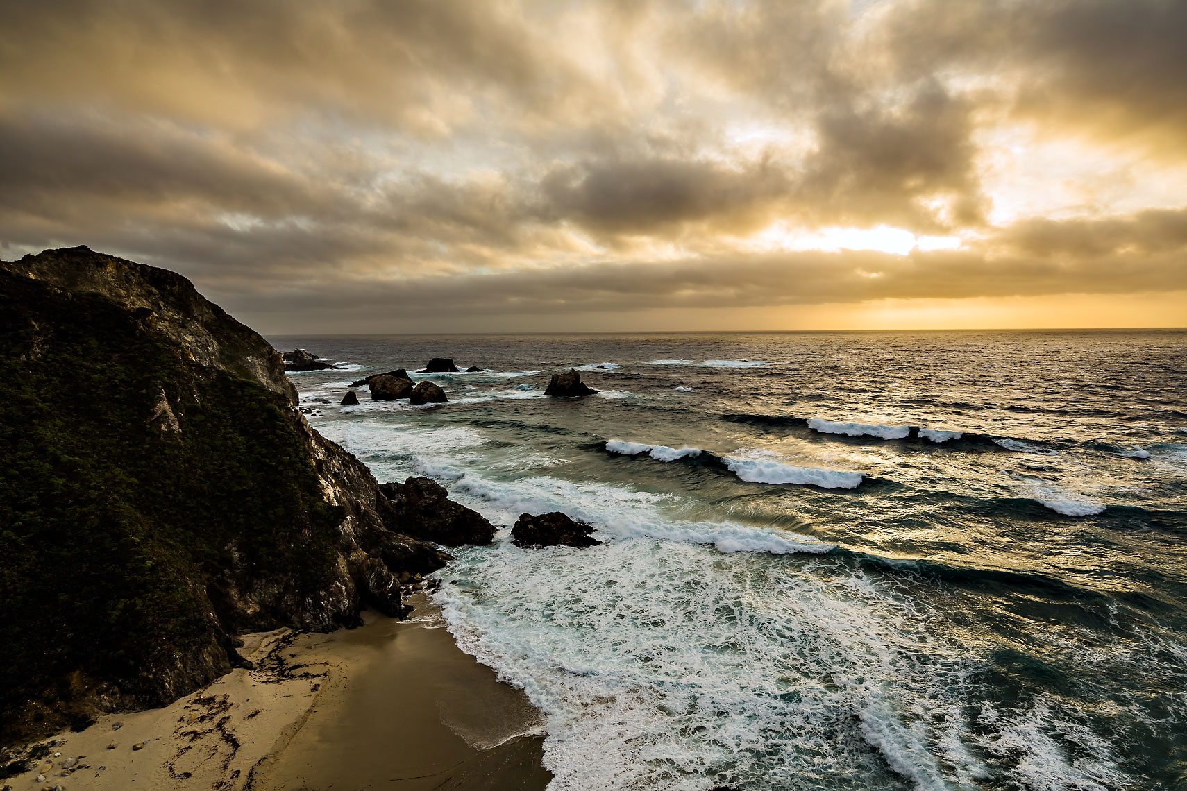 Big Sur Golden Ocean