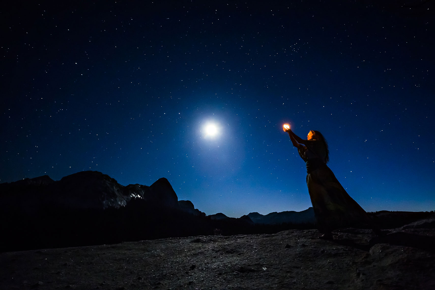 Celestial Tuolumne Moon Offering