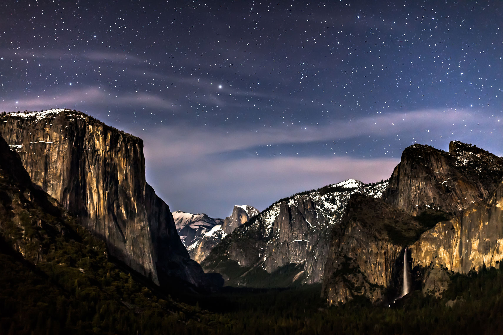 Celestial Yosemite Valley View
