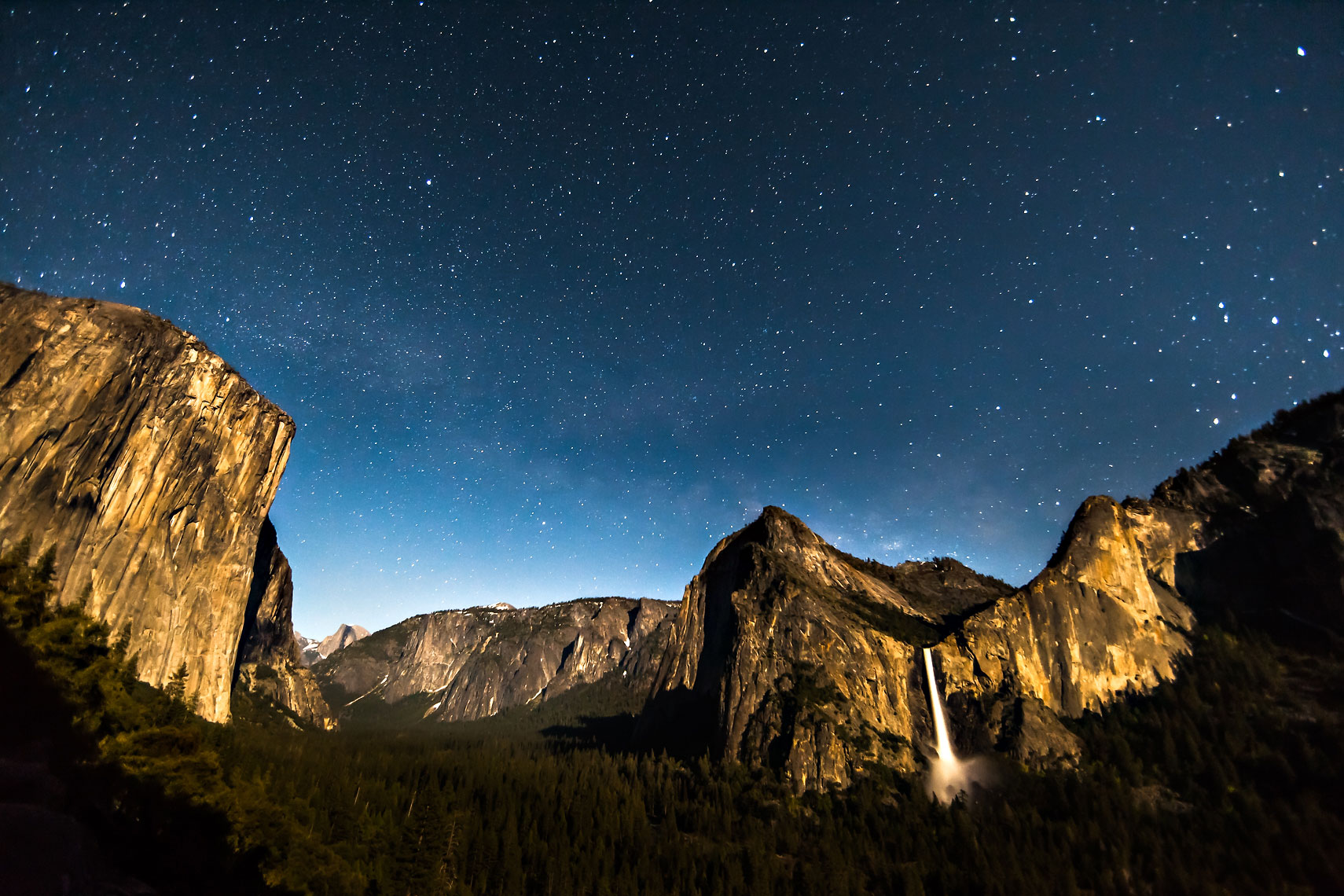Celestial Yosemite Valley