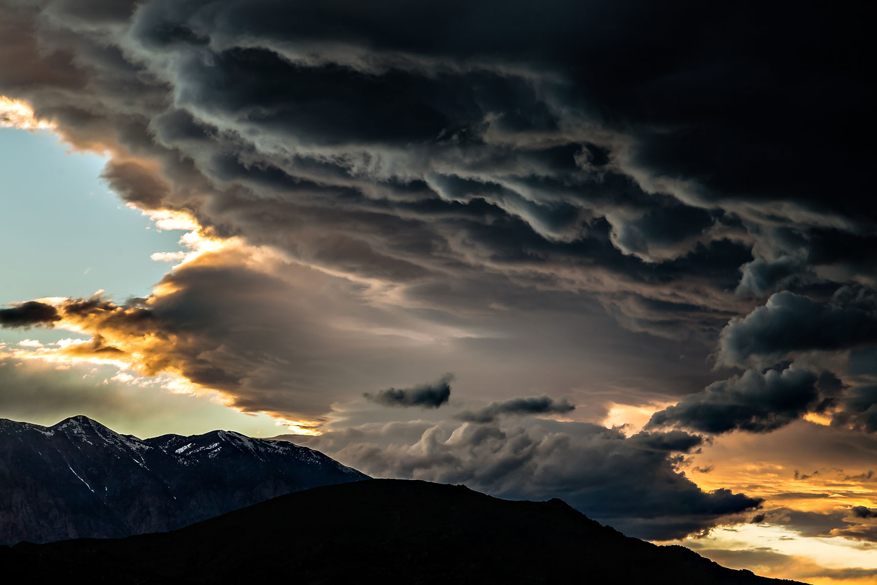 Eastern Sierra Storm Clouds
