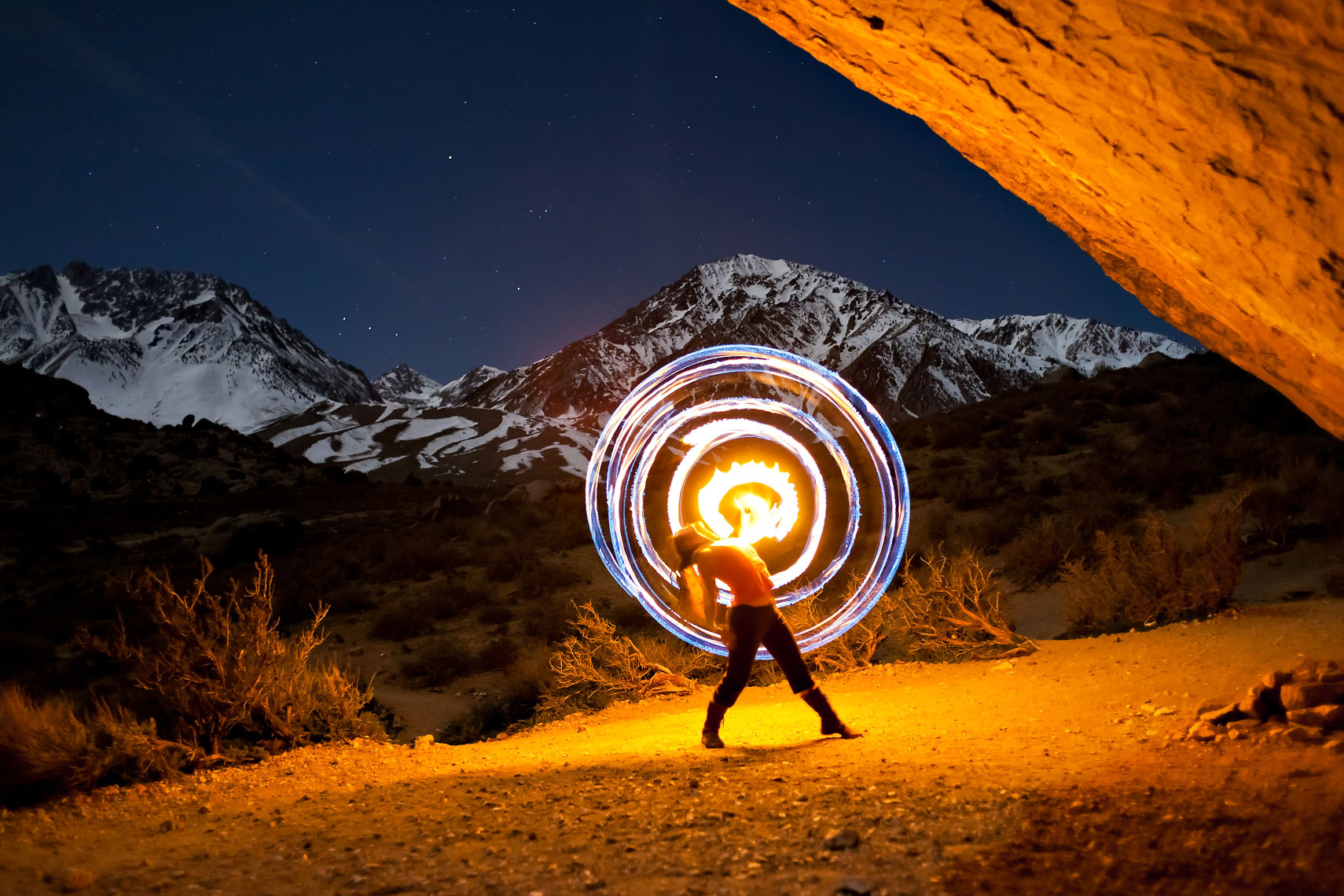 Fire Spinning Buttermilks