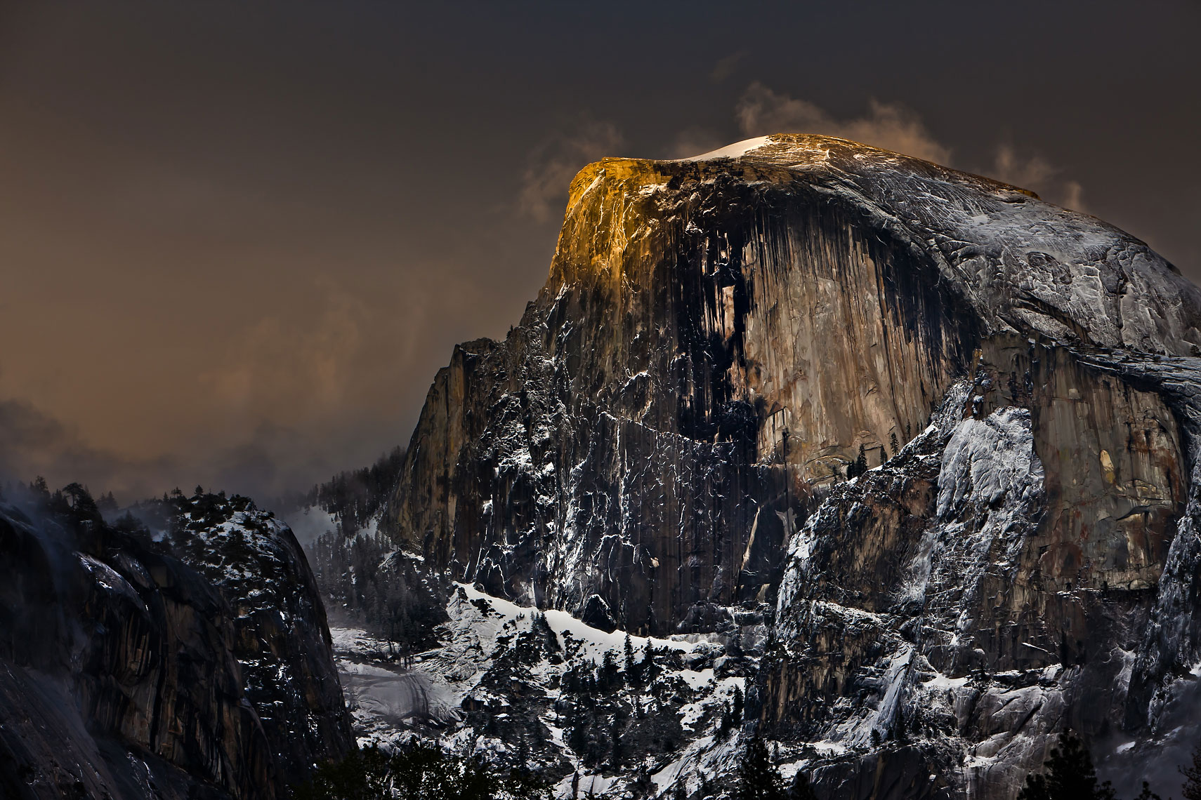 Half Dome Kiss of Light