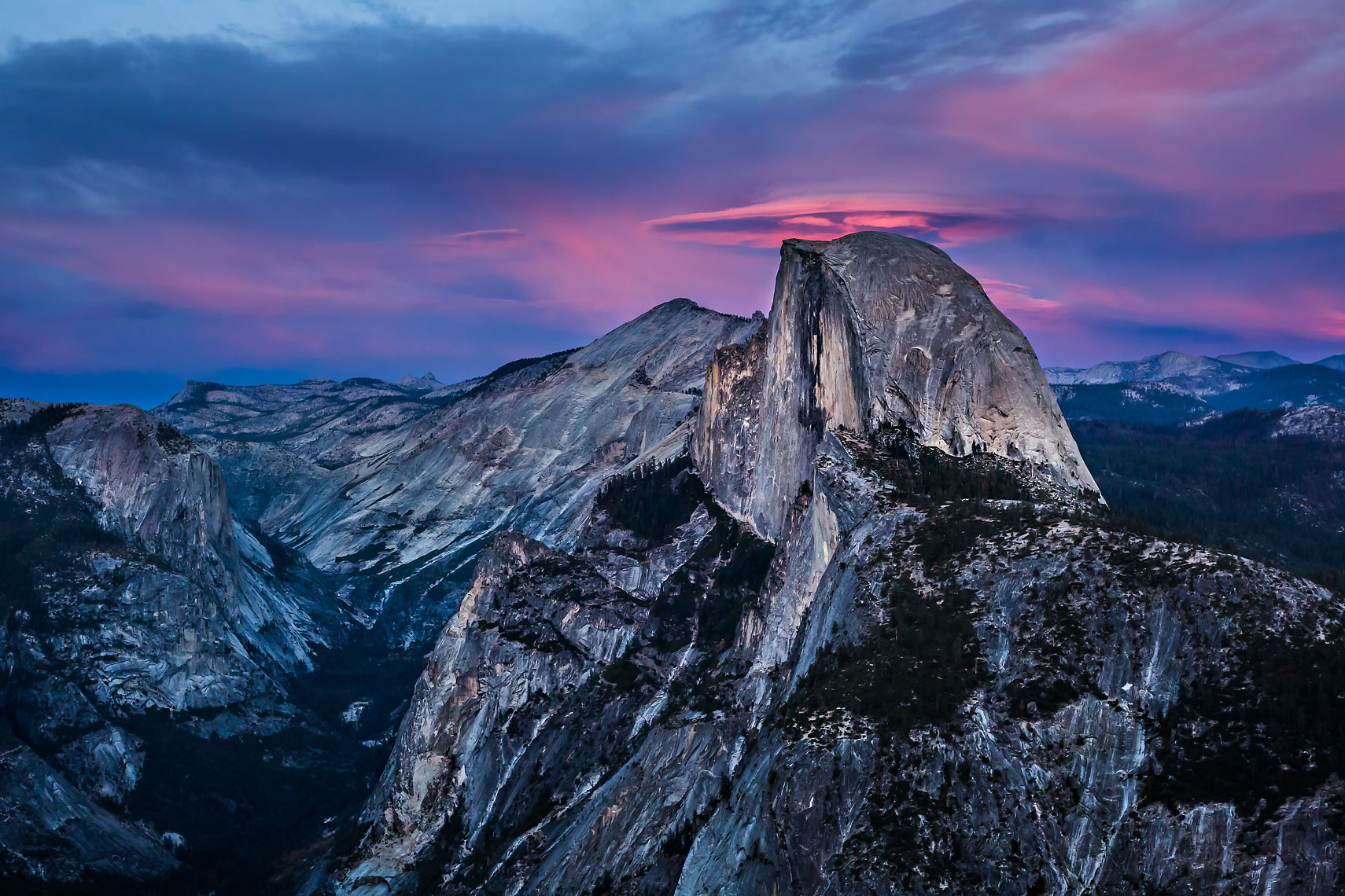 Half Dome Pink Lenticular