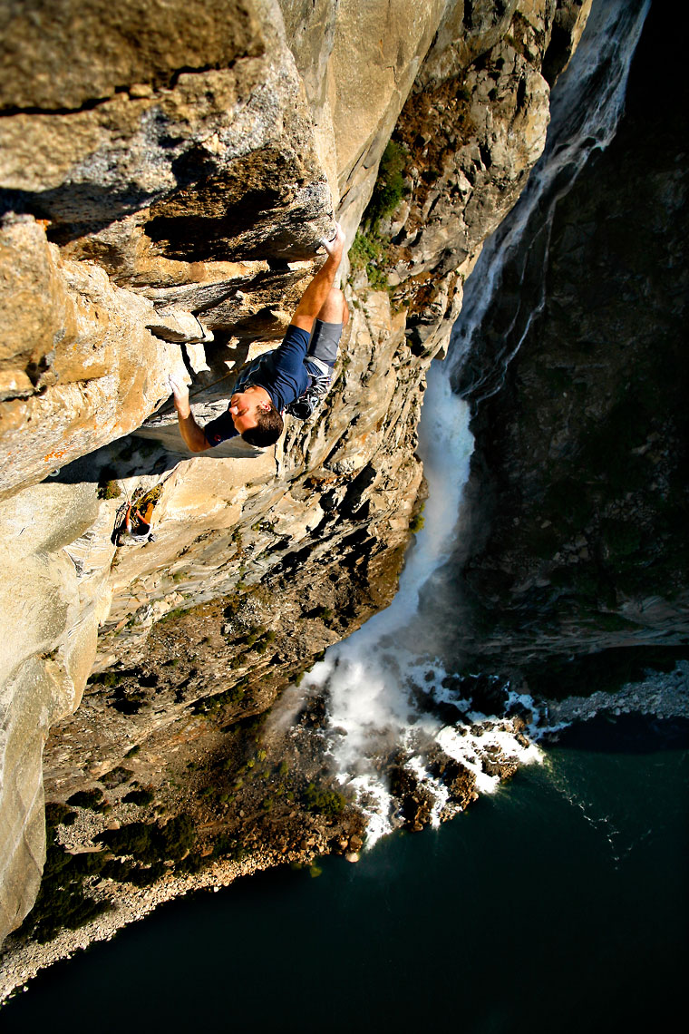 Hetch Hetchy Waterfall Climber
