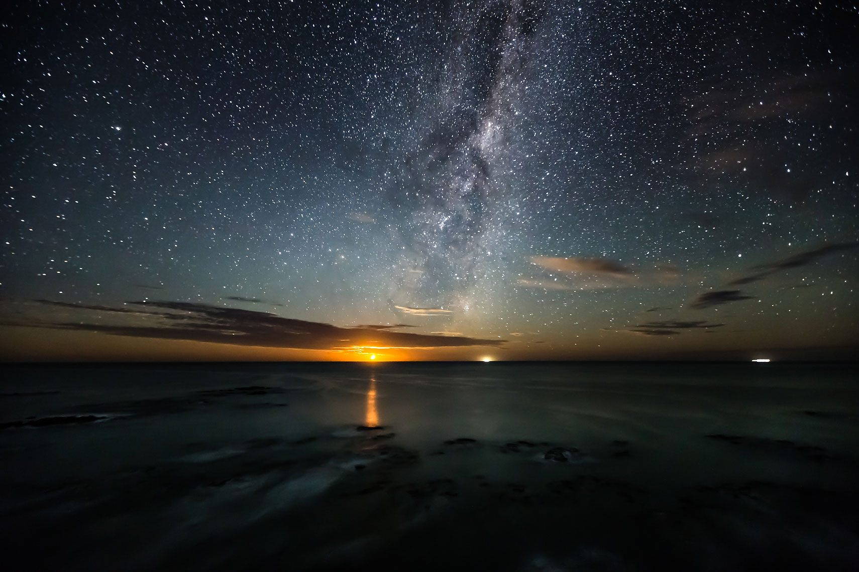 Kaikoura Milky Way Moonrise
