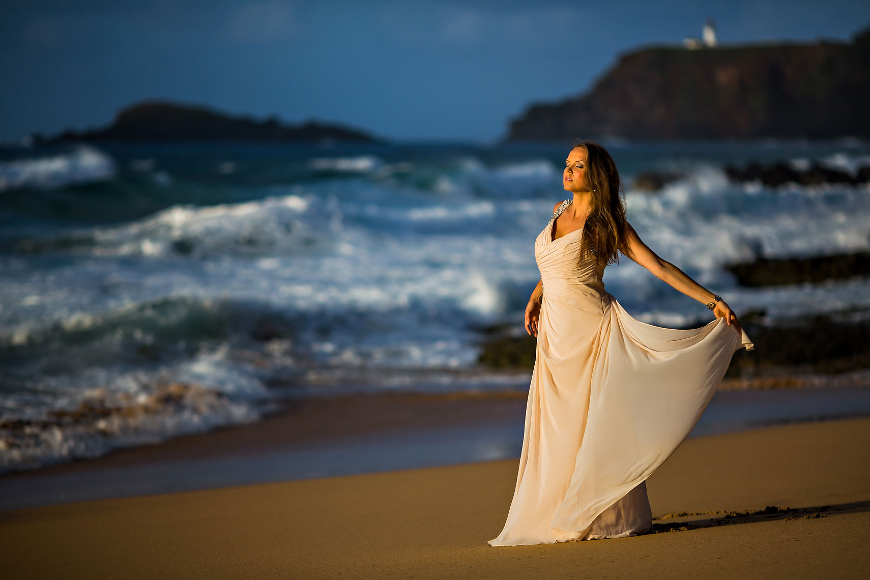 Kauai Beach Creative Portrait