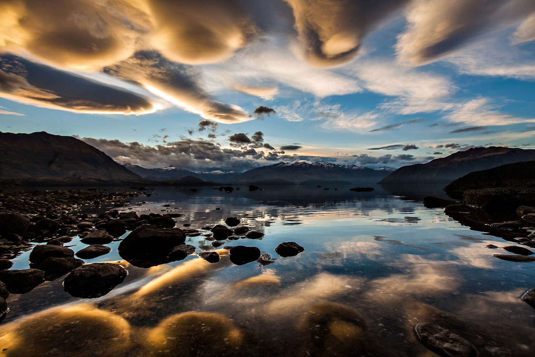 NZ Lake Wanaka Lenticulars