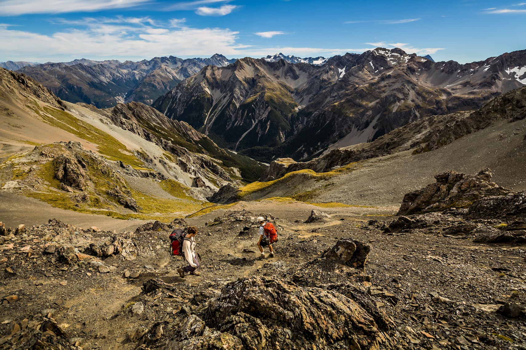 New Zealand Mountain Trekking