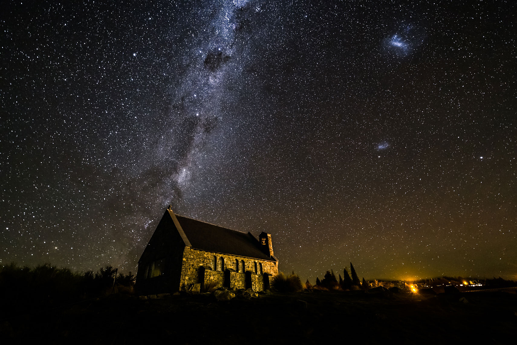 Tekapo Church Milky Way