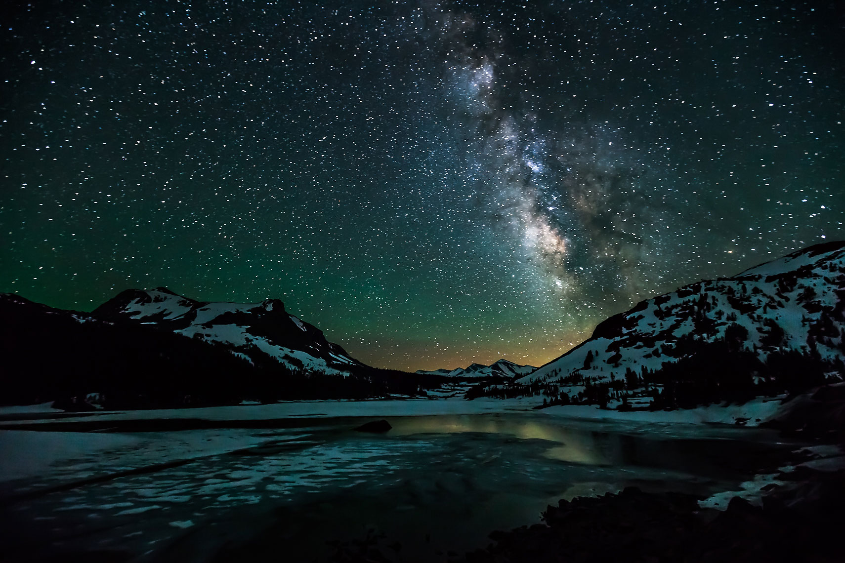 Tioga Lake Milky Way