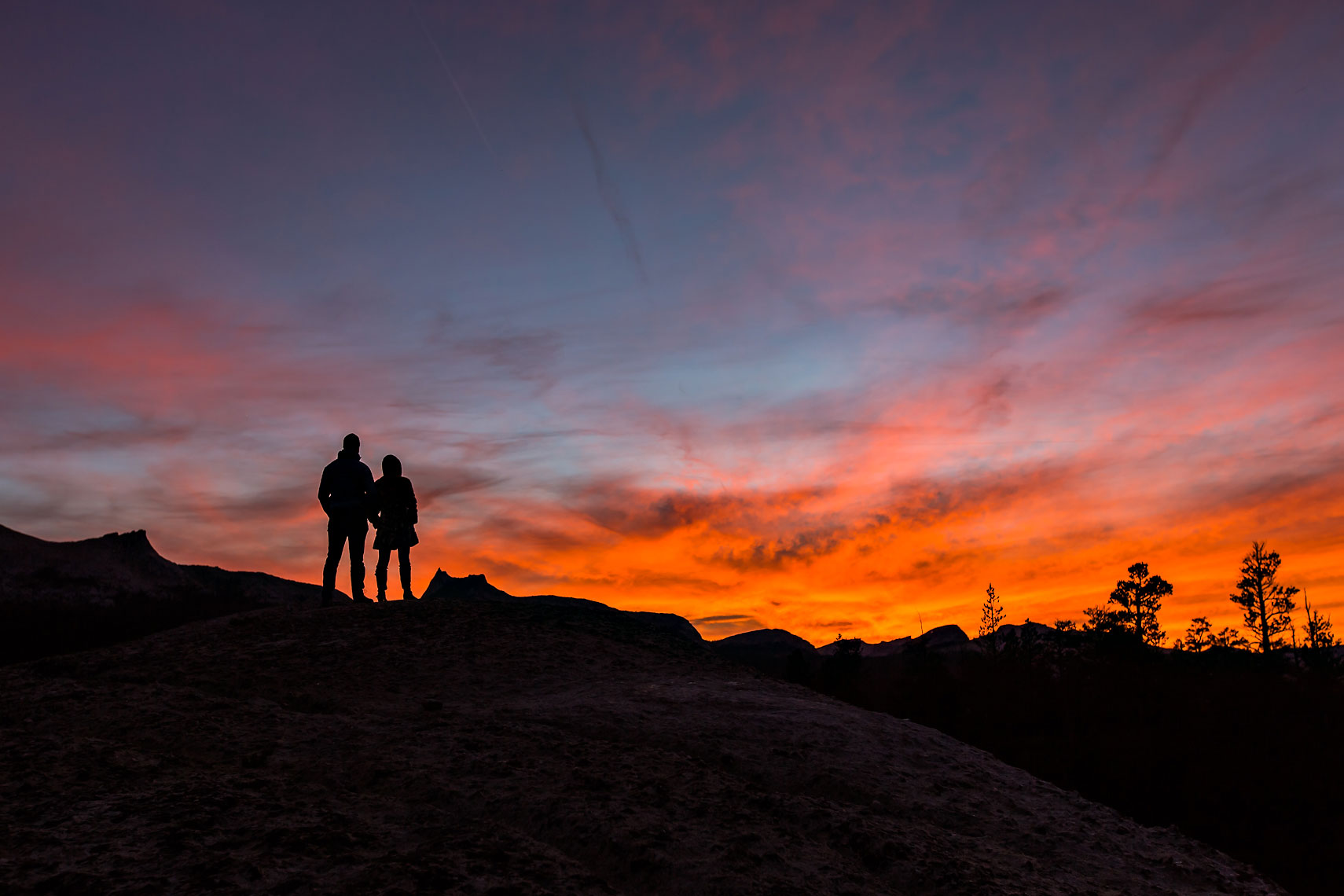 Tuolumne Sunset Couple