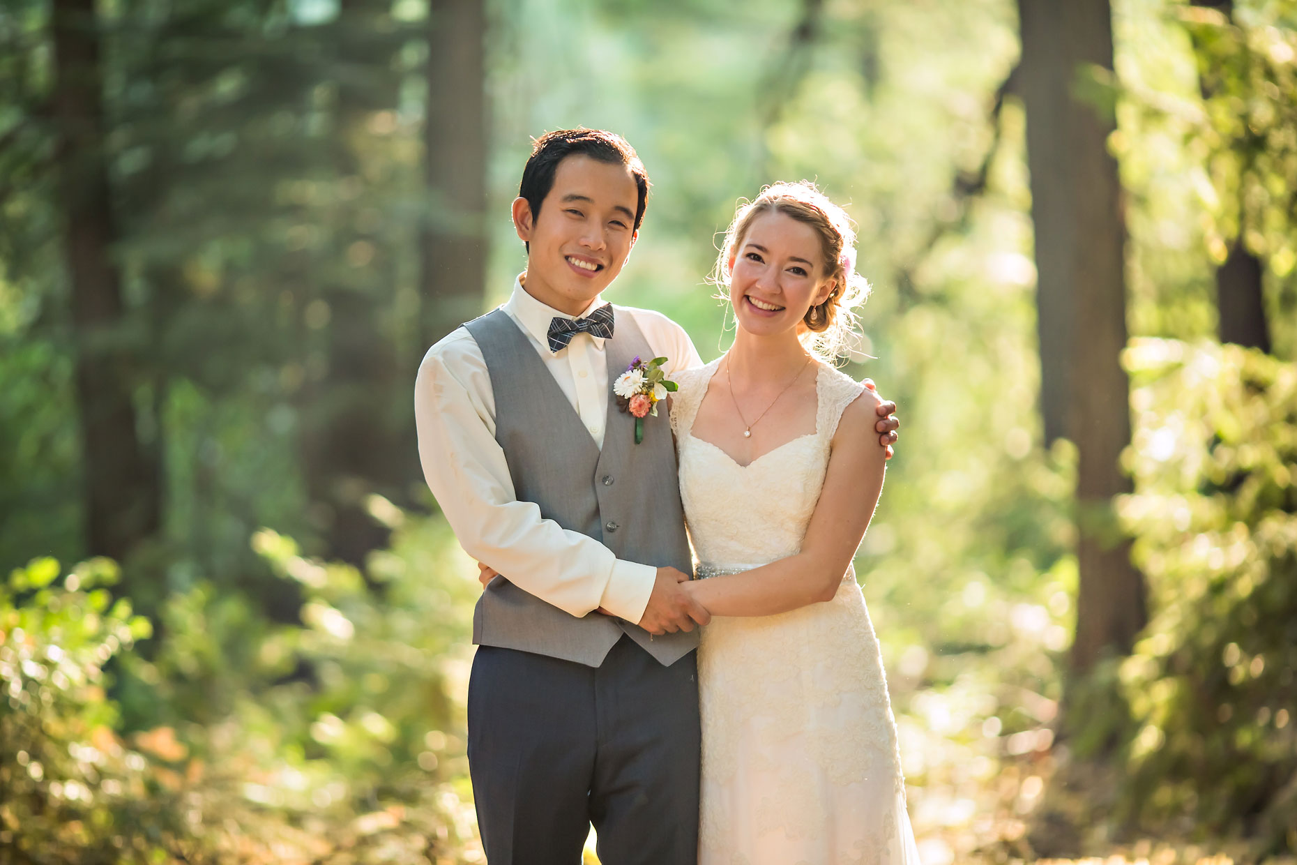 Nevada City wedding photographer.