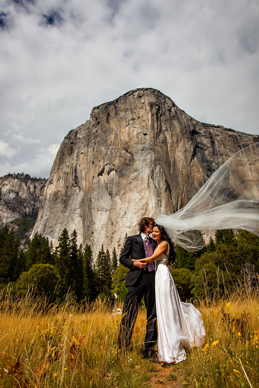 Yosemite elopement & intimate wedding photographer.