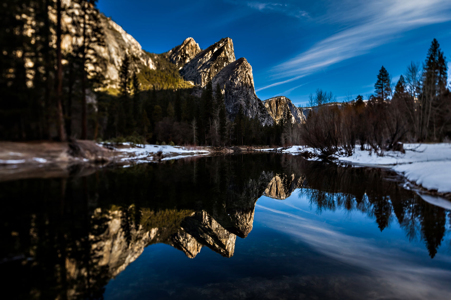 Yosemite Winter Reflection