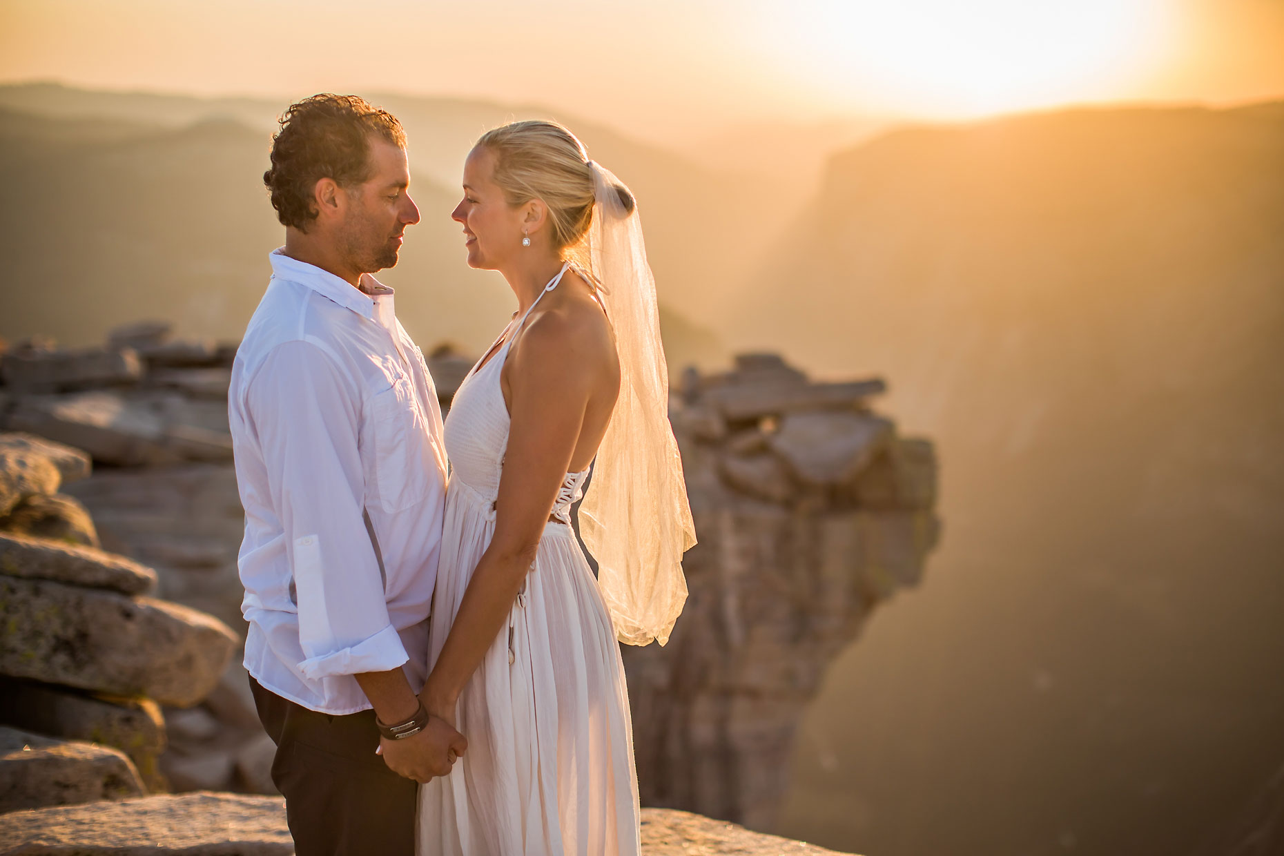 Half Dome summit Yosemite elopement photographer.
