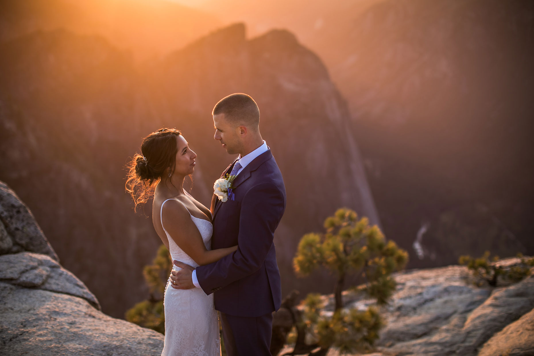 Taft Point adventure elopement photographer.