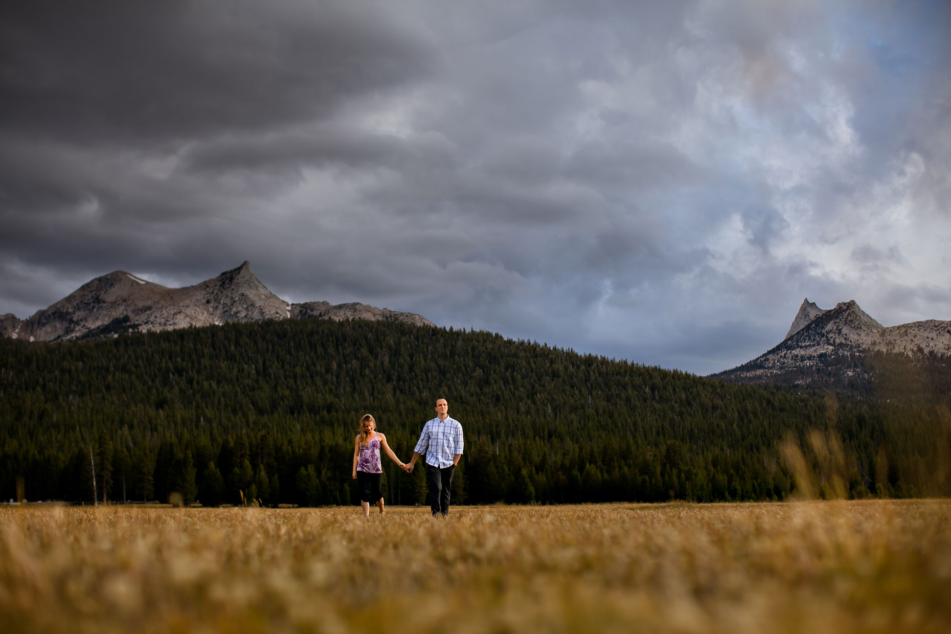 Tuolumne Meadows adventure session photography in Yosemite.