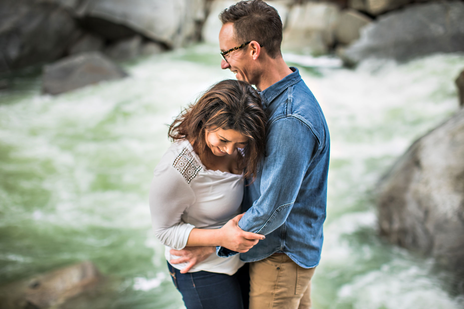 Yuba river adventure session couple photographer in Nevada City.