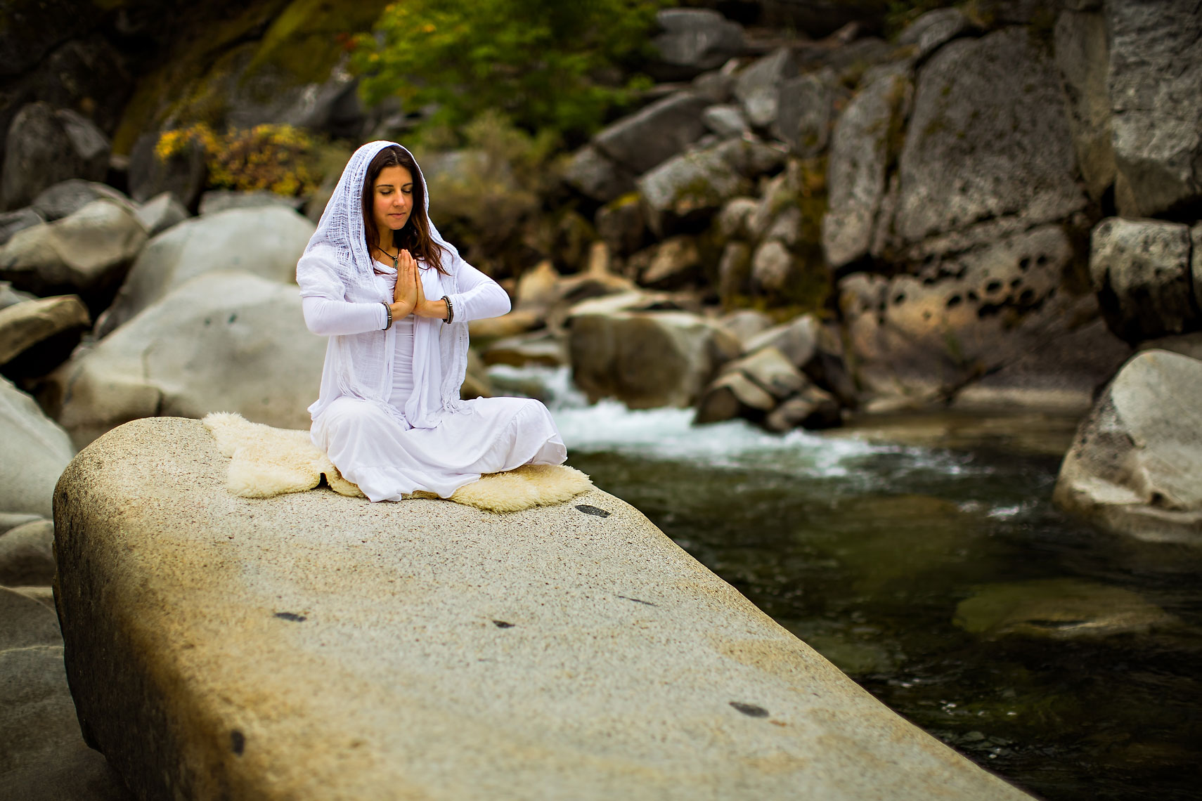 Yuba River Yoga Meditation
